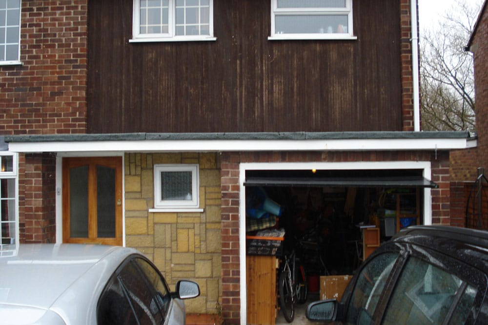 Before Amp After Garage Conversion Photographs More Living Space