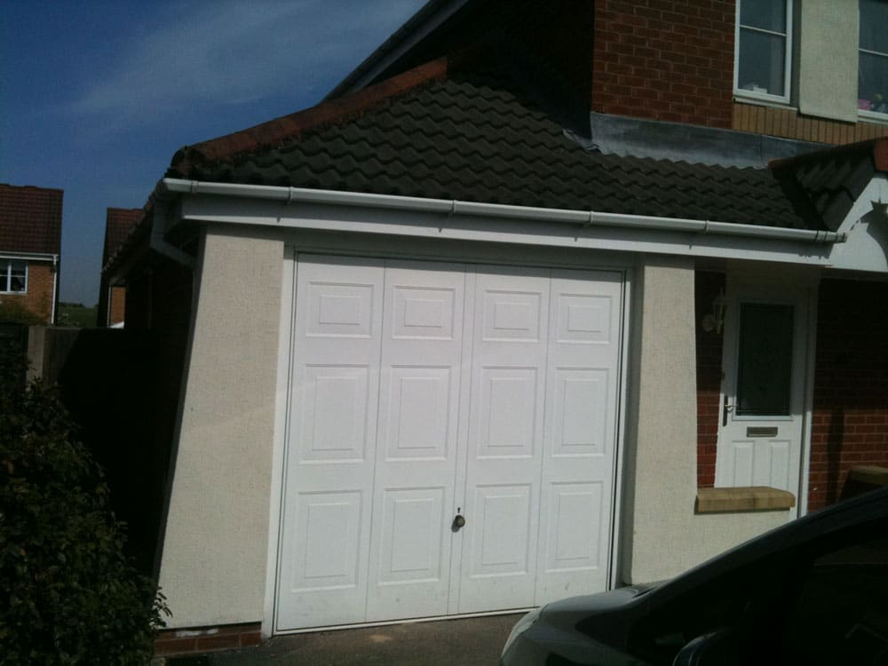 Before And After The Garage Conversion